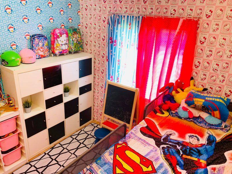 Rumah Ini Cuma Ada 2 Bilik Janji Anak Bahagia Stor Simpan Baju Berubah Wajah