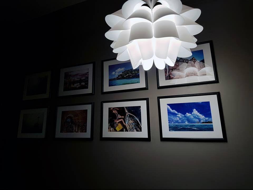 Untuk ruang pintu masuk saya guna cat Jotun Majestic Perfect Beauty Code Persiankhaki 1623 Untuk ceiling saya gunakan Bare 1391