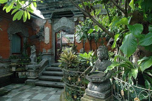 Cara Untuk Deko Taman Dalam Rumah Berguna Desain Taman Ala Bali – Hadirkan Nuansa Tradisional Bali Di