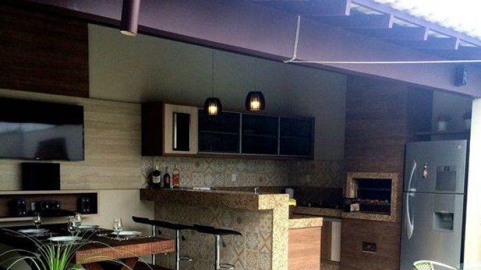 Cara Untuk Dekorasi Dapur Rumah Kampung Power Dapur Minimalis Disulap Layaknya Kafe Ada Kebun Kecil Menyejukkan