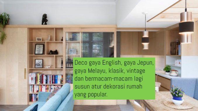 Bosan dengan dekorasi dan hiasan ruang tamu yang lama Sudah lama tak menyusun ruang tamu dengan susun atur yang baru dan lebih kemas