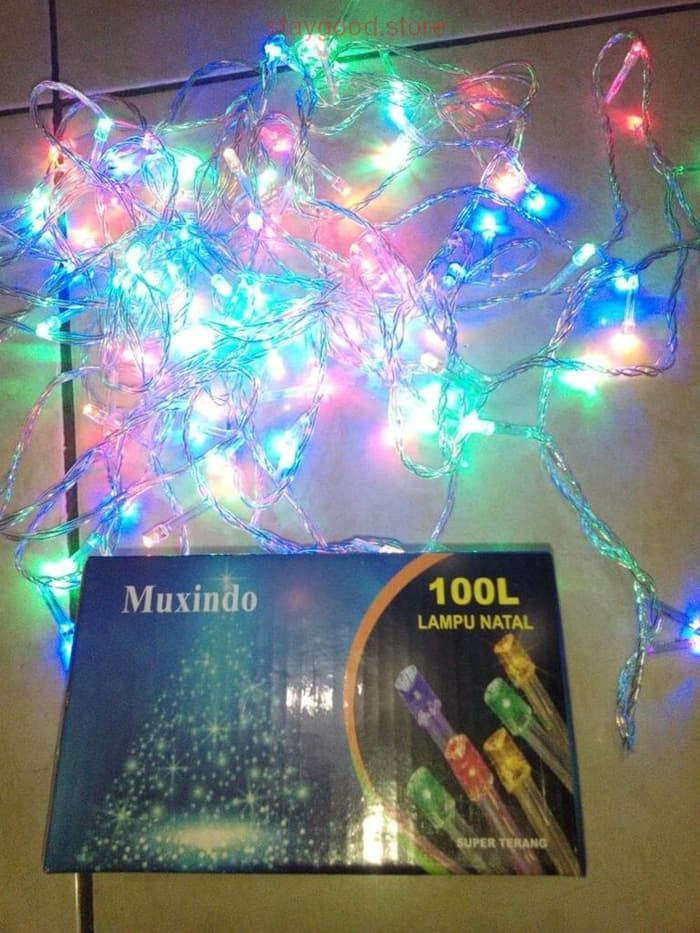 Jual Lampu LED Natal Lampu Hias Dekorasi Berkualitas 100 Led EA023
