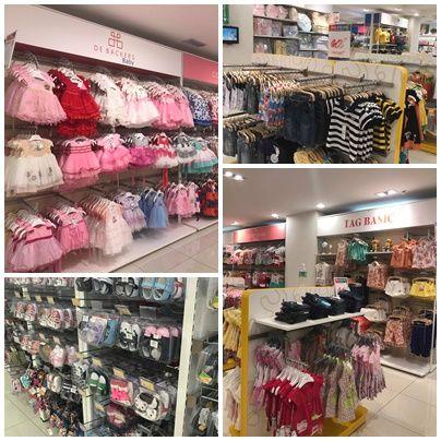 Koleksi pakaian anak dari seawal 0 bulan meliputi pakaian kasut dan barangan keperluan lain buat mereka