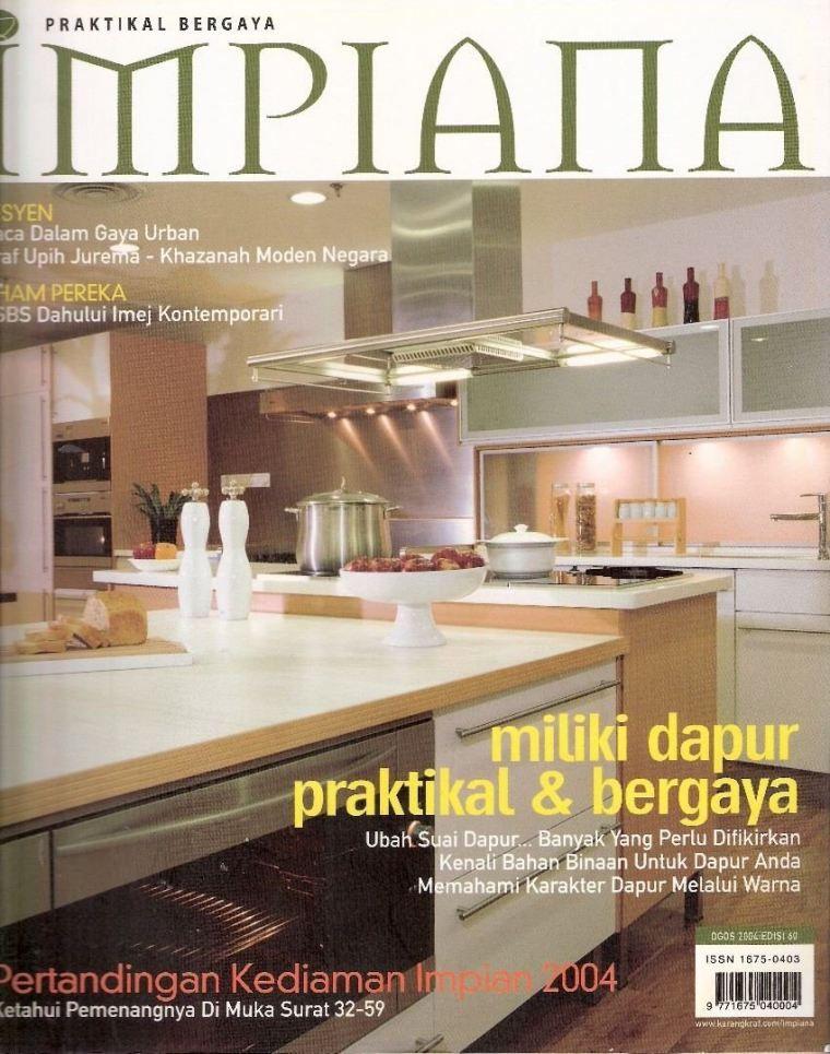 Cara Untuk Dekorasi Hiasan Dalaman Terbaik Dapur Penting Media Impiana 2016 Reno Concept Sdn Bhd