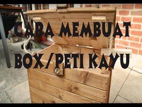 BIKSEN BIKin SENdiri Cara Membuat BOX Peti Kayu