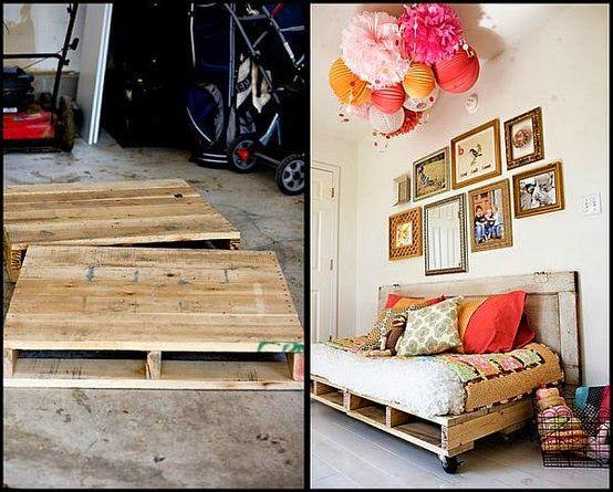 platform yang digunakan untuk mengangkut barang Namun kini fungsi palet telah divariasikan dengan kreatifnya terutama dalam idea dekorasi kediaman