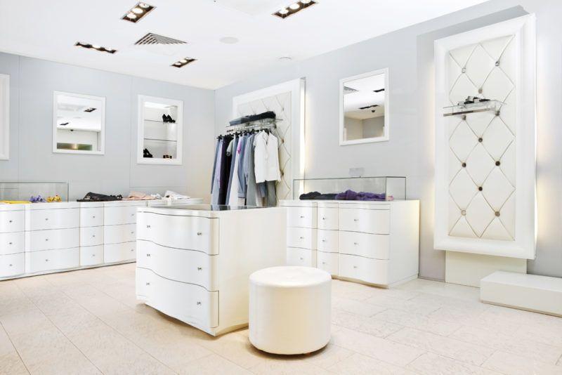 Contoh dinding toko baju minimalis