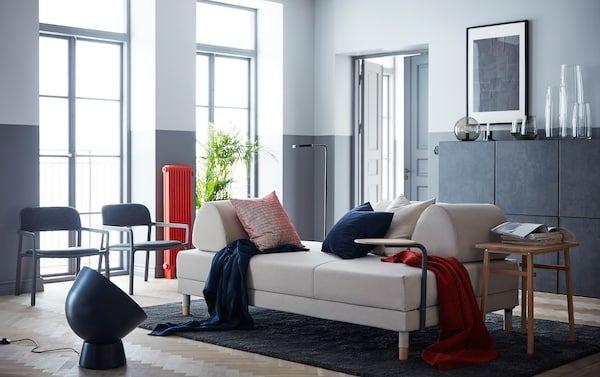 Sofa katil dan chaise longue dalam satu