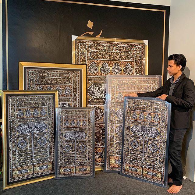 KAABAH DOOR 🕋 Galeri Faisal Alwie adalah yang pertama di Malaysia mengeluarkan design Door Kaabah dalam
