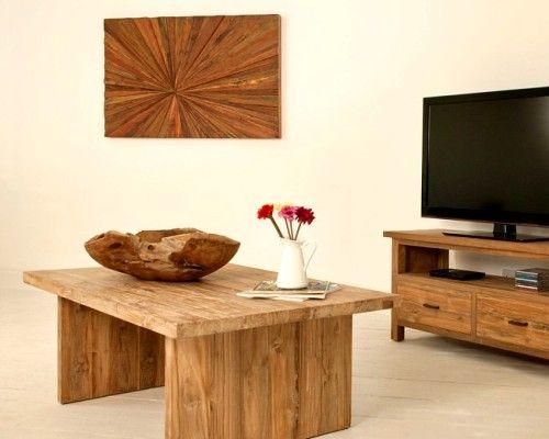 Hiasan kayu jati tua untuk dinding