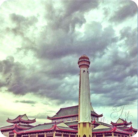 Cara Untuk Dekorasi Hiasan Dalaman Terbaik Masjid Kristal Meletup Yanty Lee June 2013