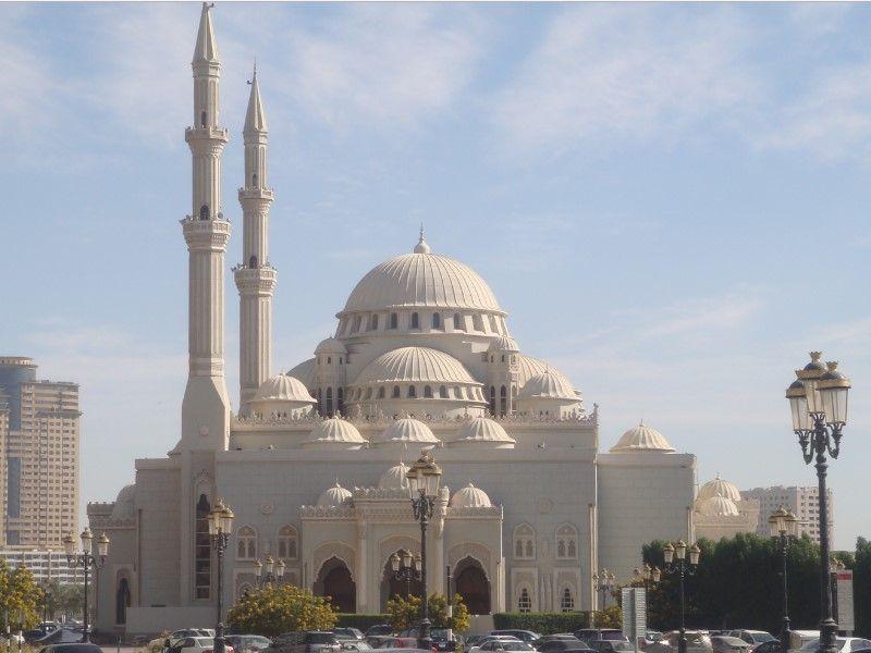 Masjid Al Noor Sharjah Arab