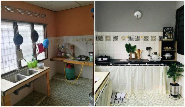 Tips Dekorasi Bajet Untuk Dapur Bilik & Tandas Rumah Bujang Bawah RM250