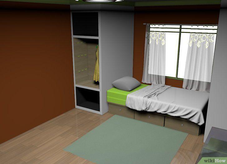 Cara Untuk Dekorasi Hiasan Dalaman Terbaik Pangsapuri Kecil Bermanfaat Cara Mendekorasi Rumah Wikihow