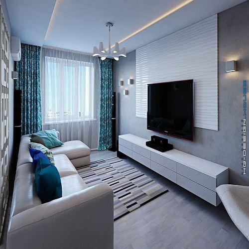 Dekorasi Hiasan Dalaman Terbaik Rumah Moden Kontemporari Bernilai 15 Cara Menata Ruang Tamu Sempit Memanjang