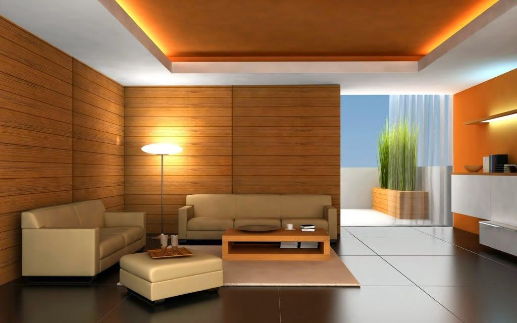Desain Interior Ruang Tamu Menggunakan Dinding Kayu Design Rumah