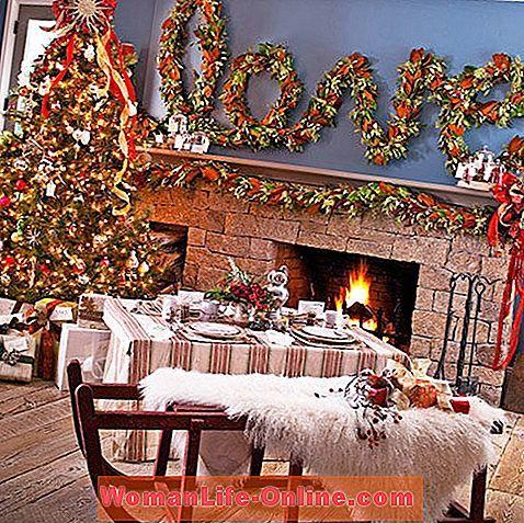 Cara Untuk Dekorasi Hiasan Dalaman Terbaik Ruang Tamu Rumah Kayu Hebat Bilik Hidup Pretty Krismas Christmas 2019