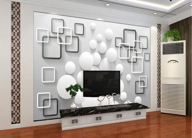 Cara Untuk Dekorasi Hiasan Dalaman Terbaik Rumah Apartment Meletup Dekorasi Dinding Mural Foto Wallpaper Modern Minimalis Putaran