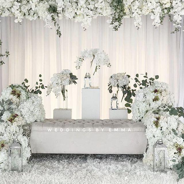 12 Idea Pelamin Tema Putih Untuk Majlis Kahwin Pesona Pengantin