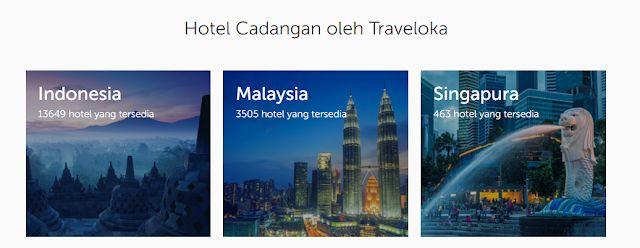 Bagi mereka yang bercadang untuk bercuti dekatje seperti Indonesia Singapura malah di dalam Malaysia sahaja Di Traveloka ada hampir ribuan hotel untuk