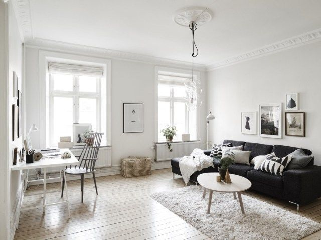 gambar ruang tamu minimalis terbaru ruang tamu hitam dan putih 50 pics dalaman moden dengan aksen dari gambar ruang tamu minimalis terbaru