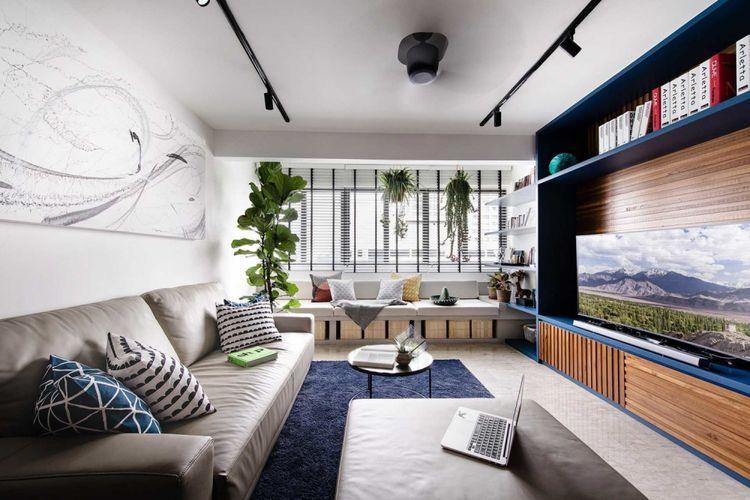 Cara Untuk Dekorasi Hiasan Dalaman Terbaik Rumah Homestay Terbaik 9 Contoh Dekorasi Mempercantik Ruang Tamu anda Halaman All Kompas