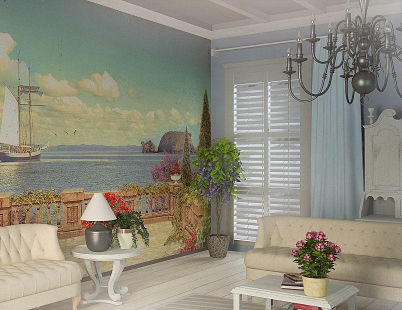 Cara Untuk Dekorasi Hiasan Dalaman Terbaik Rumah Studio Terbaik Wallpaper Fresco 47 Foto Panel Dengan Bunga Putih Yang Besar