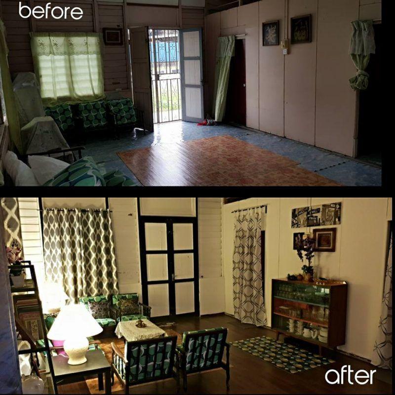 Cara Untuk Dekorasi Rumah Kampung Penting Sepakat 6 Beradik Menantu Hadiahkan Mak Deko Raya Vintage Retro