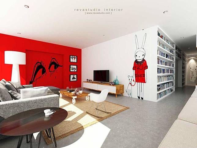 Cara Untuk Dekorasi Rumah Minimalis Menarik Inspirasi Desain Mural Keren Untuk Menghias Dinding Rumah Minimalis anda