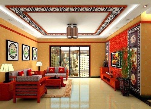 Cara Untuk Hiasan Dalaman Apartment Bermanfaat 16 Model Plafon Klasik Ruang Tamu Yang Dapat anda Pilih