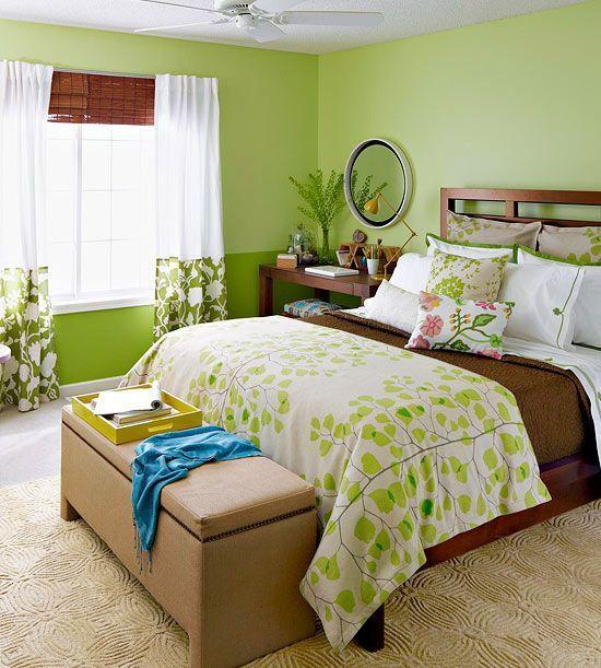 Cara Untuk Hiasan Dalaman Apartment Kos Rendah Terhebat 60 Desain Kamar Tidur Warna Hijau Minimalis Modern Simpel Dan