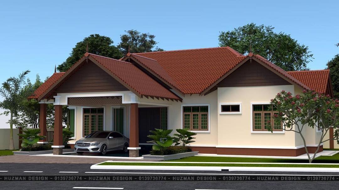 Siap Rumah Banglo untuk Puan Nur berkeluasan 2100 kaki persegi Nak buat