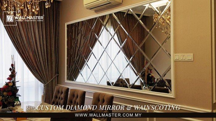 Cara Untuk Hiasan Dalaman Bilik Air Power Diamond Mirror Penyeri Rumah anda – Wallmaster Global M Sdn Bhd