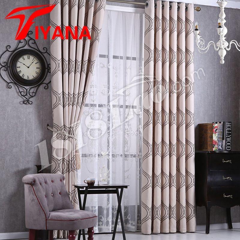 New Arrival Europe Luxury Sheer Window Veil Untuk ruang tamu & bilik tidur Tirai Tirai Langsir Rawatan Window & tirai hp014 20