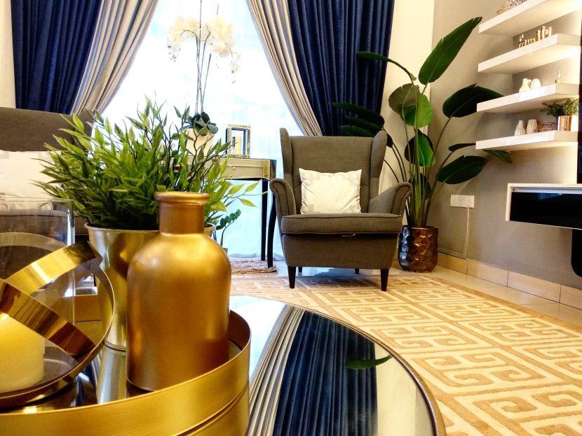 Cara Untuk Hiasan Dalaman Condominium Bermanfaat Fuh Ruang Tamu Dihias Macam Lobi Hotel Mewah I Suke