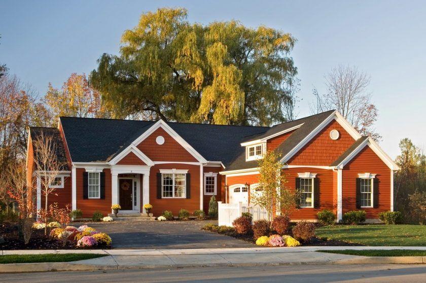 Rumah satu tingkat yang indah dengan loteng 100 Projects Mengapa ia