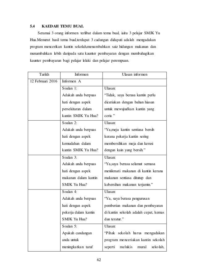 Cara Untuk Hiasan Dalaman Kantin Sekolah Bernilai Contoh Kerja Kursus Pbs Stpm Pengajian Am 4