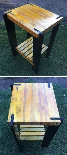41 Best DIY Pallet Table Ideas