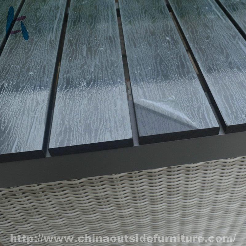 Cara Untuk Hiasan Dalaman Ruang Tamu Baik China Customized Rattan Dining Set Outdoor Furniture Suppliers