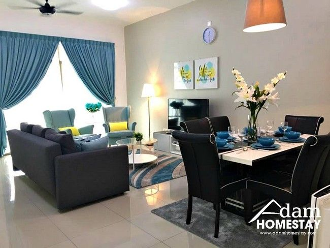 Cara Untuk Hiasan Dalaman Ruang Tamu Rumah Teres Dua Tingkat Bermanfaat Tempahan Homestay Johor Bahru Murah Untuk Keluarga