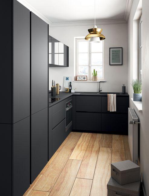 Pilihan penjimatan ruang untuk dapur kecil