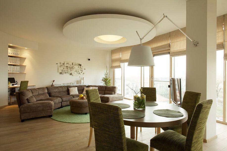 Ia bijaksana untuk mendekati dengan pilihan perabot Apabila anda memutuskan pada imej pedalaman secara beransur ansur mengisi ruang tamu