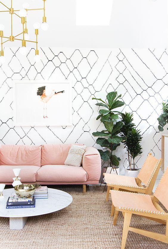 Cara Untuk Hiasan Dalaman Rumah Ala Inggris Terhebat 25 Motif Wallpaper Dinding Untuk Interior Rumah Yang Sedang Hits