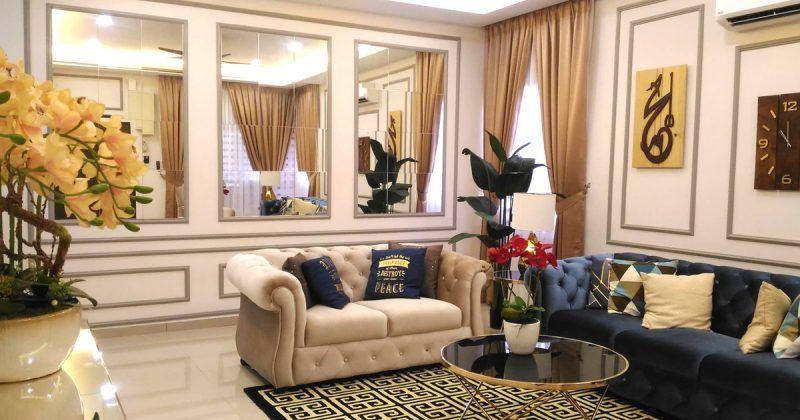 Wanita Ini Deko Rumah Ala Hotel Mewah Bajet Hanya RM30K