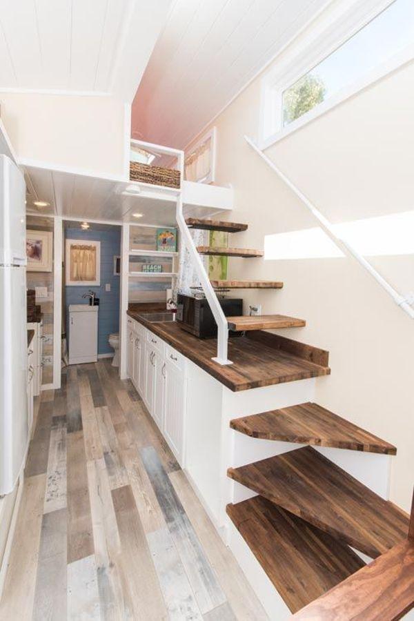 inspirasi tangga minimalis di ruang sempit