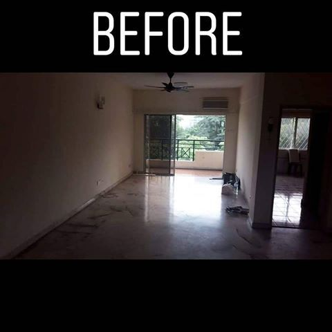 Ubahsuai di setapak 2018 renovation Rezeki renovation kontraktor kahwin