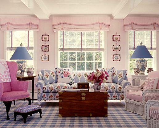 Contoh Desain Ruang Tamu A Shabby Chic Ala Inggris Minimalis