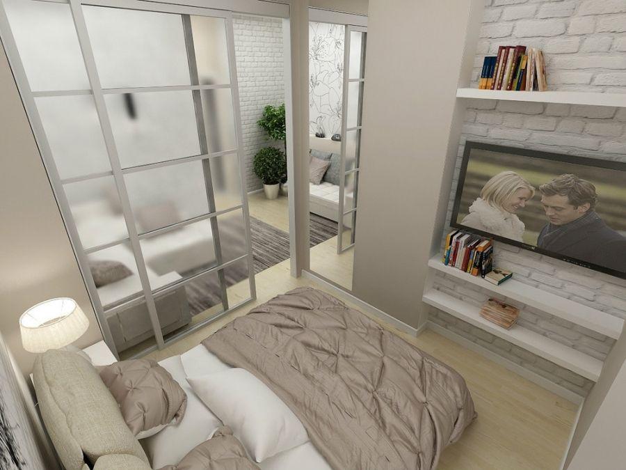 Cara Untuk Hiasan Dalaman Rumah Studio Bernilai Reka Bentuk Bilik Tidur Bilik Tidur 16 Meter Persegi M 49 Foto