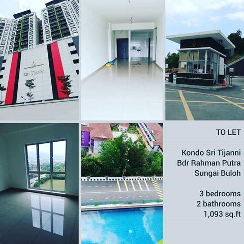 WTL Untuk disewakan sewa SERI TIJANNI CONDOMINIUMS kondominium apartmen Bukit Rahman Putra