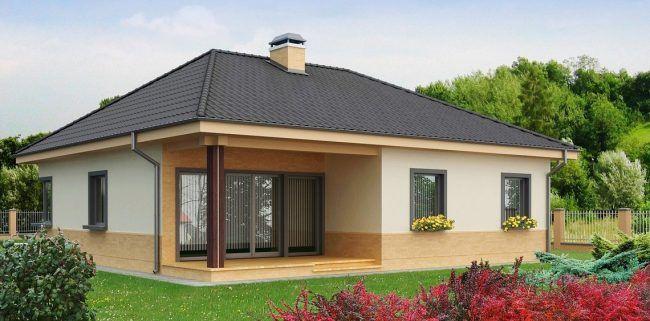 Rumah padat sesuai untuk pembinaan bandar tunggal dan rendah Menurut projek standard kawasan ini adalah ≈111 sq m m